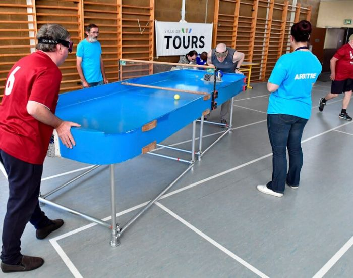 Compétition Tours Showdown handisport